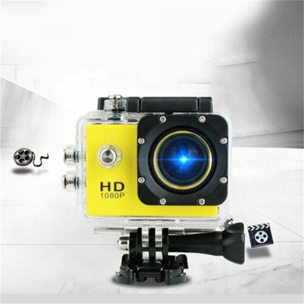 4k Full Hd 1080p Waterproof Sports Camera Action Camcorder Sports Dv Car Camera (2)