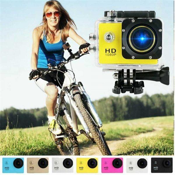 4k Full Hd 1080p Waterproof Sports Camera Action Camcorder Sports Dv Car Camera (3)
