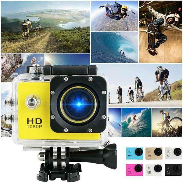 4k Full Hd 1080p Waterproof Sports Camera Action Camcorder Sports Dv Car Camera (4)