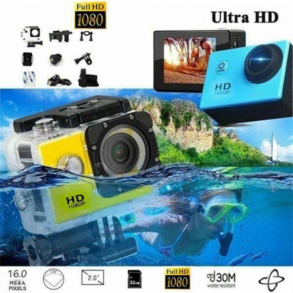 4k Full Hd 1080p Waterproof Sports Camera Action Camcorder Sports Dv Car Camera (5)