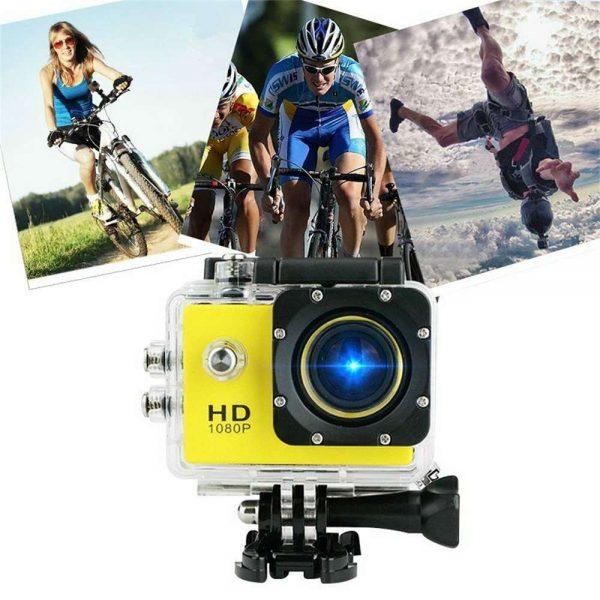 4k Full Hd 1080p Waterproof Sports Camera Action Camcorder Sports Dv Car Camera (6)