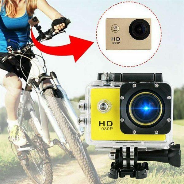 4k Full Hd 1080p Waterproof Sports Camera Action Camcorder Sports Dv Car Camera (7)