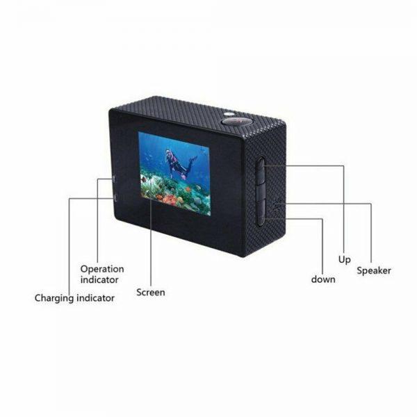 4k Full Hd 1080p Waterproof Sports Camera Action Camcorder Sports Dv Car Camera (8)