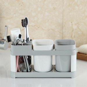 Electric Toothbrush Holder Bathroom Stand Caddy Storage Organiser Rack Pot Tidy (1)