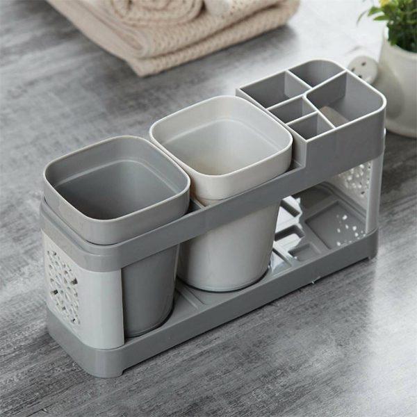 Electric Toothbrush Holder Bathroom Stand Caddy Storage Organiser Rack Pot Tidy (2)