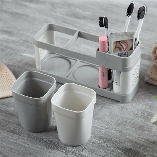 Electric Toothbrush Holder Bathroom Stand Caddy Storage Organiser Rack Pot Tidy (3)