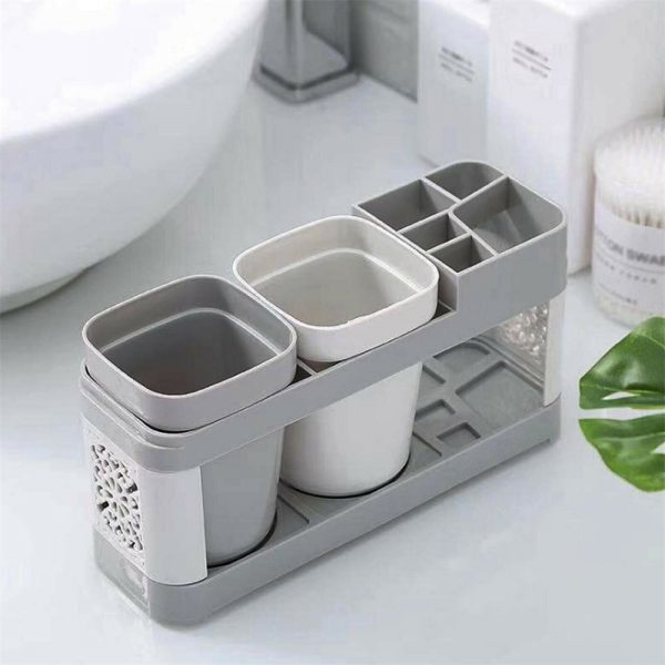 Electric Toothbrush Holder Bathroom Stand Caddy Storage Organiser Rack Pot Tidy (5)