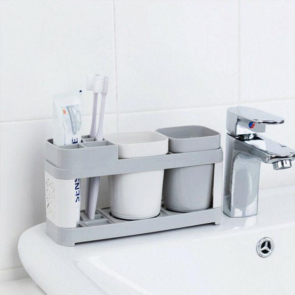 Electric Toothbrush Holder Bathroom Stand Caddy Storage Organiser Rack Pot Tidy (6)