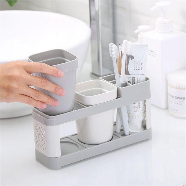 Electric Toothbrush Holder Bathroom Stand Caddy Storage Organiser Rack Pot Tidy (7)