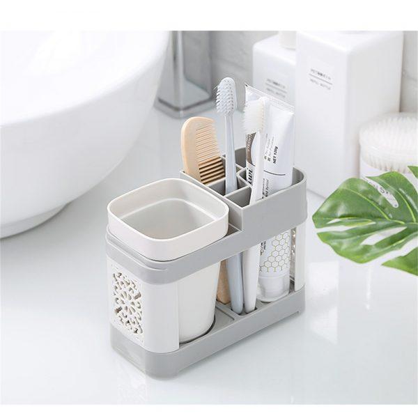 Electric Toothbrush Holder Bathroom Stand Caddy Storage Organiser Rack Pot Tidy (9)