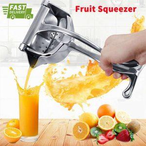 Manual Fruit Juicer Squeezer Tool Hand Press Fresh Orange Juice Lemon Grinders (10)
