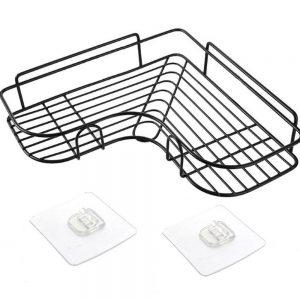 Shower Caddy Shelf Bathroom Corner Bath Storage Holder Organizer Triangular Rack (7)