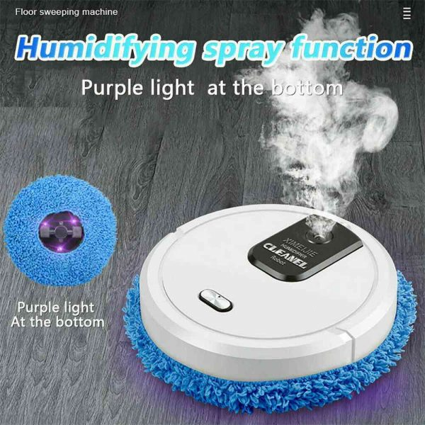 Three In One Intelligent Sweeping Robot Dry And Wet Vacuum Cleaner Rechargeable (1)