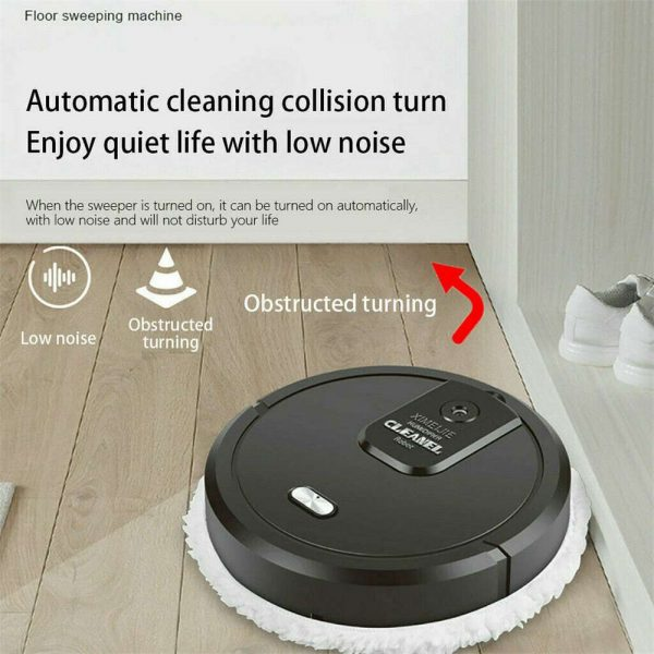 Three In One Intelligent Sweeping Robot Dry And Wet Vacuum Cleaner Rechargeable (11)