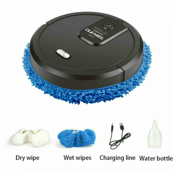 Three In One Intelligent Sweeping Robot Dry And Wet Vacuum Cleaner Rechargeable (6)