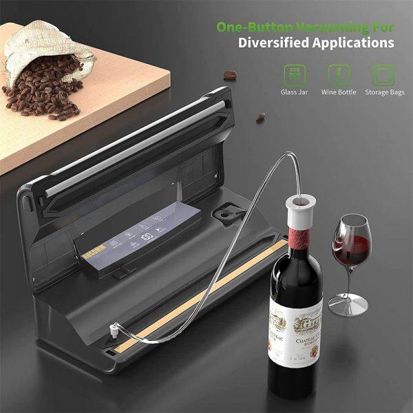 Vacuum Sealer For Food, 75kpa Automatic Food Saver Vacuum Sealer Machine (2)