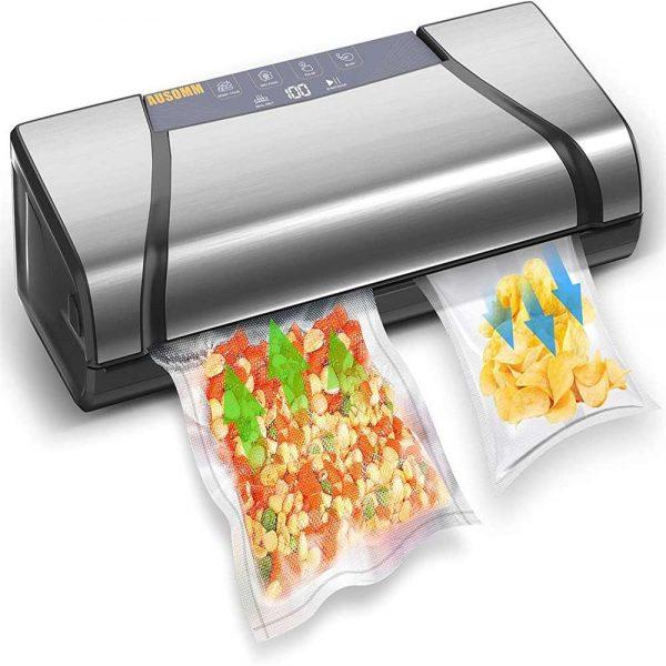 Vacuum Sealer For Food, 75kpa Automatic Food Saver Vacuum Sealer Machine (4)
