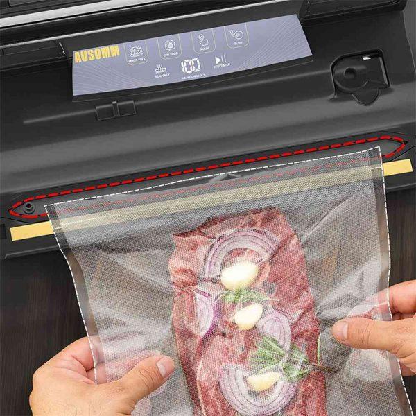 Vacuum Sealer For Food, 75kpa Automatic Food Saver Vacuum Sealer Machine (5)