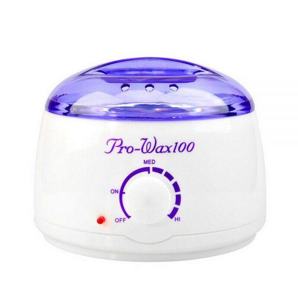 Waxing Kit Wax Heater Warmer Pot Machine Wax Beans Stick Set Strips Hair Removal (10)