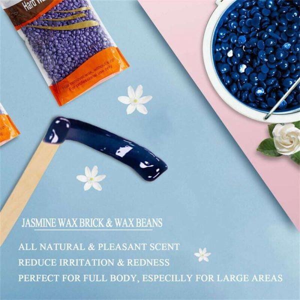 Waxing Kit Wax Heater Warmer Pot Machine Wax Beans Stick Set Strips Hair Removal (2)