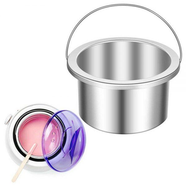 Waxing Kit Wax Heater Warmer Pot Machine Wax Beans Stick Set Strips Hair Removal (9)
