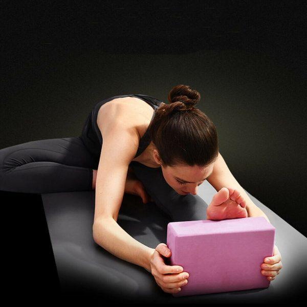2 X Yoga Block Pilates Stretching Foam Brick Yoga Exercise Aids Uk (15)