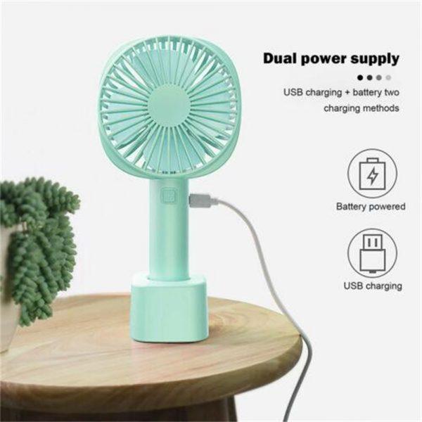 2500mah Portable Cute Electric Fan Usb Charging Hand Held Electric Fan (2)