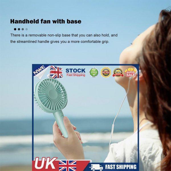 2500mah Portable Cute Electric Fan Usb Charging Hand Held Electric Fan (3)