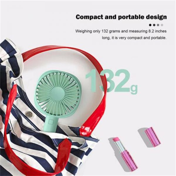 2500mah Portable Cute Electric Fan Usb Charging Hand Held Electric Fan (6)