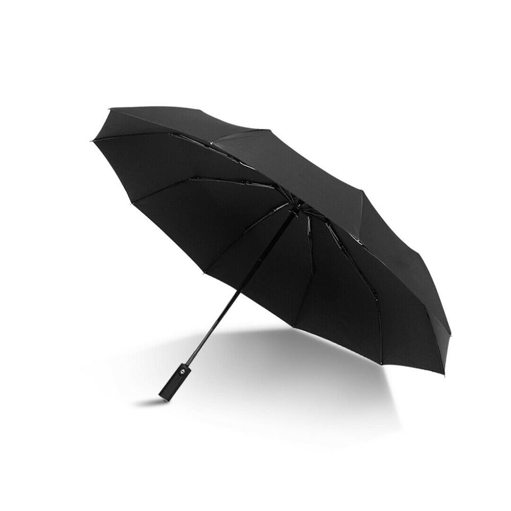Automatic 10 Bone Strong Folding Umbrella High End Business Umbrella Unisex (11)