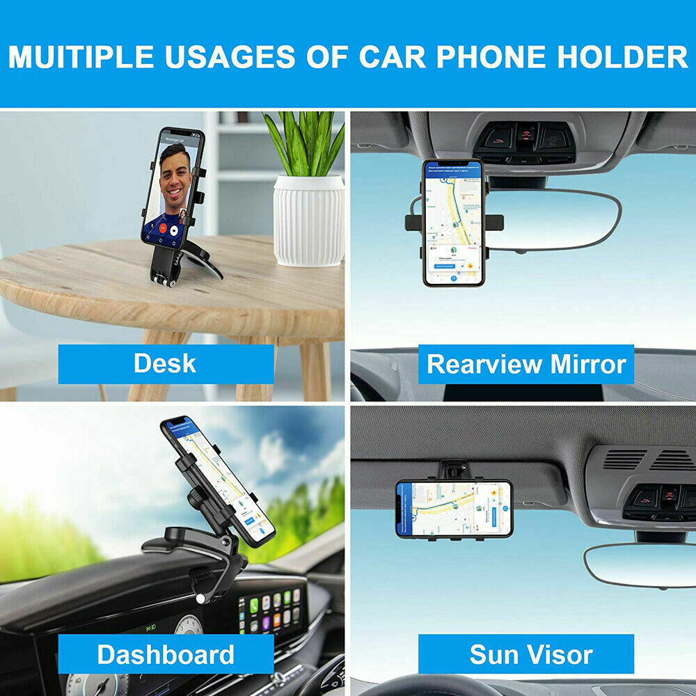Car Dashboard Mobile Phone Bracket Universal Center Console Support Frame (3)