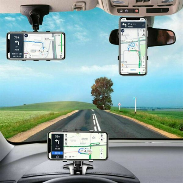 Car Dashboard Mobile Phone Bracket Universal Center Console Support Frame (5)