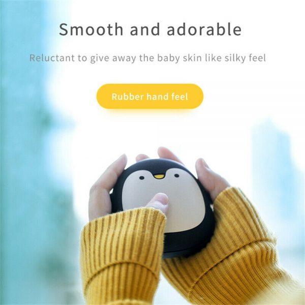 Cute Penguin Polar Bear Hand Warmer Usb Charging Mini Hand Warmers New (3)