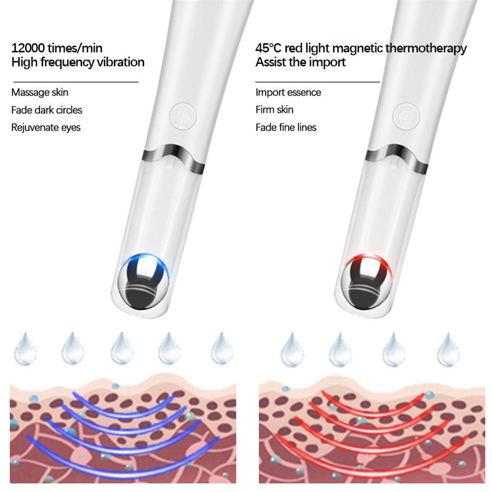 Eye Vibration Massager Electric Warm Eye Beauty Device For Wrinkle (6)