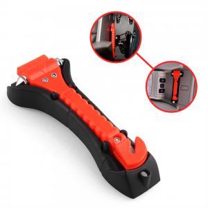 Fire Escape Hammer Car Window Breaker Window Breaker Seat Belt Cutter Tool (1)