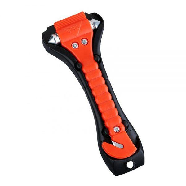 Fire Escape Hammer Car Window Breaker Window Breaker Seat Belt Cutter Tool (3)