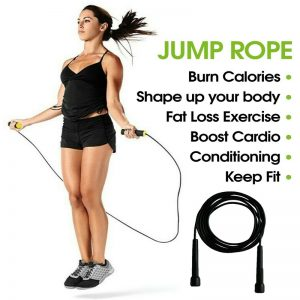 Jump Rope Fitness Exercise Equipment Aerobic Fitness Exercise Jumping Exercise For Adult Childre (4)