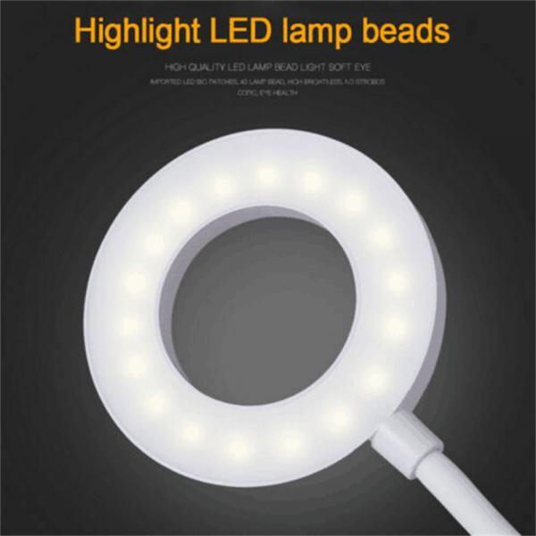 Led Usb Creative Clip Folding Table Lamp Table Study Light Learning Eye (1)