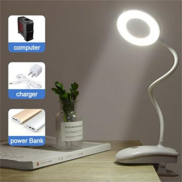 Led Usb Creative Clip Folding Table Lamp Table Study Light Learning Eye (2)