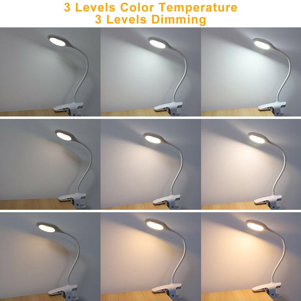 Led Usb Creative Clip Folding Table Lamp Table Study Light Learning Eye (9)