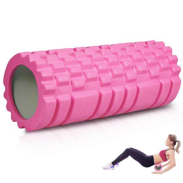 Massage Yoga Grid Foam New Hollow Foam Roller Mesh For Pilates Physical Exercise (11)