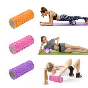 Massage Yoga Grid Foam New Hollow Foam Roller Mesh For Pilates Physical Exercise (16)