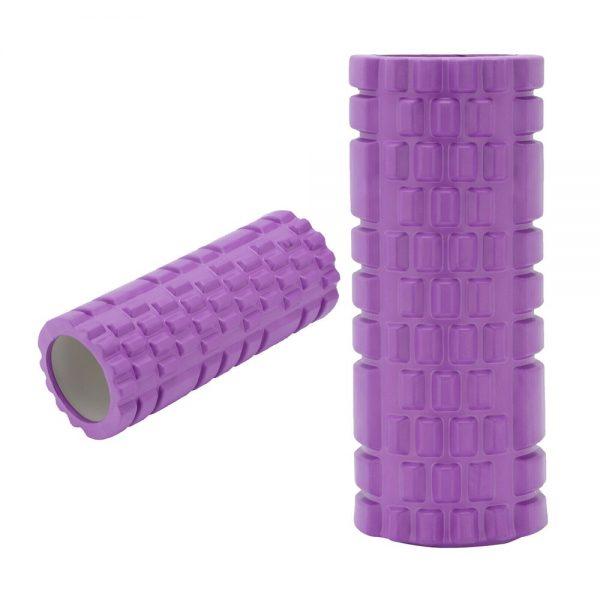 Massage Yoga Grid Foam New Hollow Foam Roller Mesh For Pilates Physical Exercise (2)