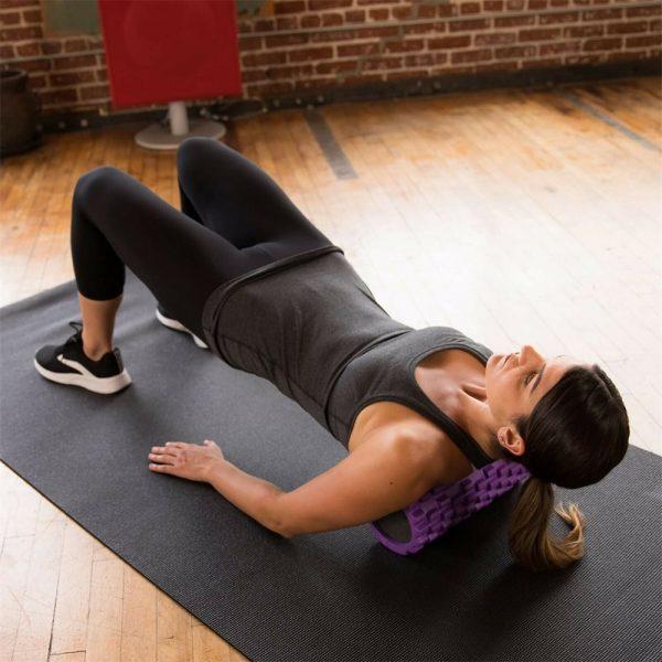 Massage Yoga Grid Foam New Hollow Foam Roller Mesh For Pilates Physical Exercise (3)