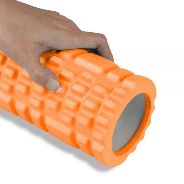Massage Yoga Grid Foam New Hollow Foam Roller Mesh For Pilates Physical Exercise (4)