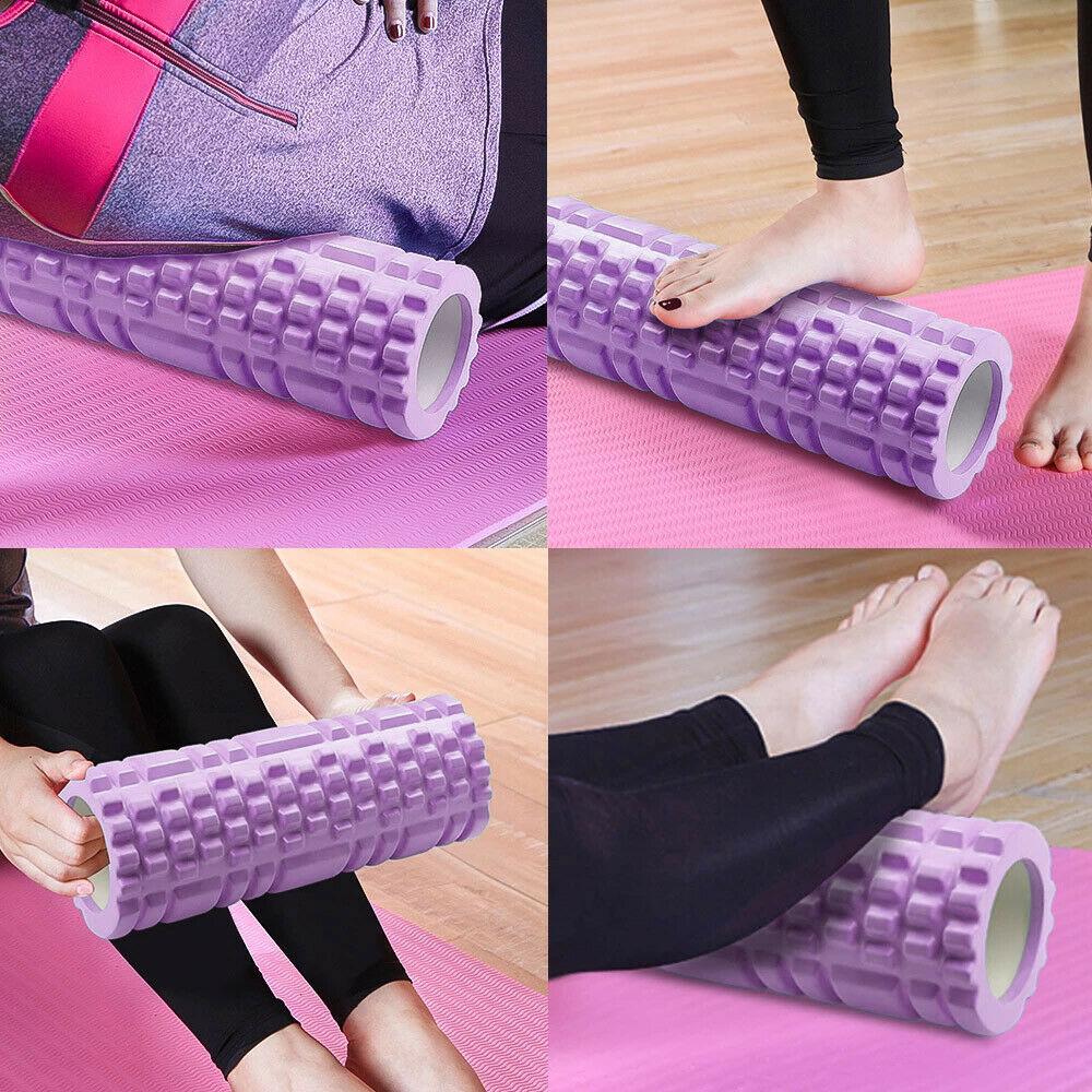 Massage Yoga Grid Foam New Hollow Foam Roller Mesh For Pilates Physical Exercise (9)