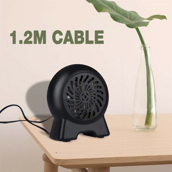 Mini Desktop Heater Small Electric Heater Fan Hot Air Warmer Silent Home Office (9)