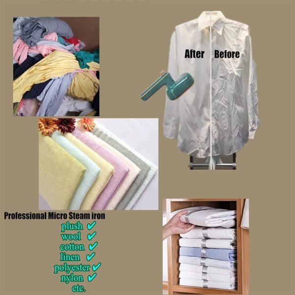 Mini Handheld Portable Hanging Ironing Machine Clothes Shirts Garment Steamer New (2)