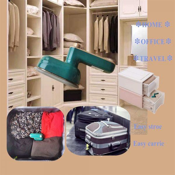 Mini Handheld Portable Hanging Ironing Machine Clothes Shirts Garment Steamer New (3)