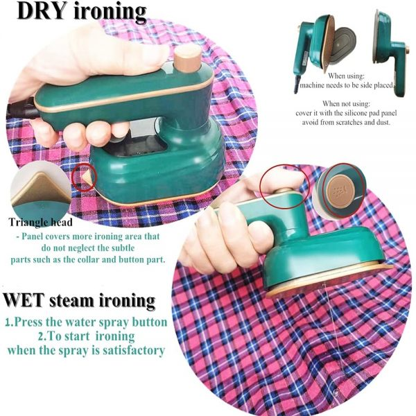 Mini Handheld Portable Hanging Ironing Machine Clothes Shirts Garment Steamer New (4)
